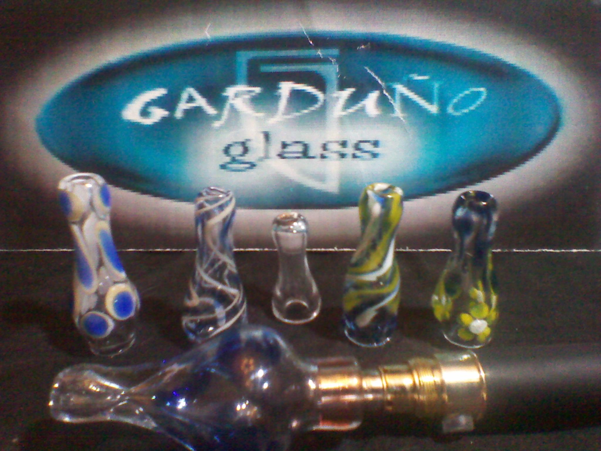 Glass Drip Tips by GardunoGlass